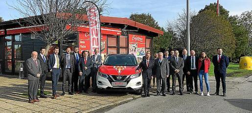 El acuerdo abarca diversos vehículos para servicio del club.
