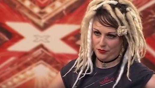 Ariel Burdett, en una imagen de su paso por 'X Factor'.