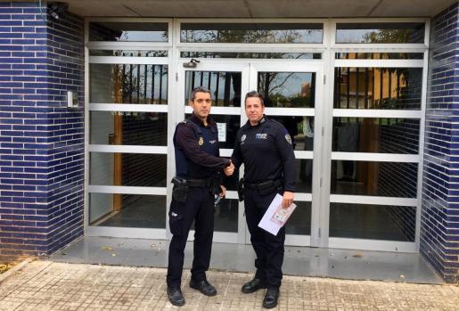 Según ha informado Policía Nacional este sábado en una nota de prensa, en esta ocasión le ha acompañado la Policía Local de Andratx.