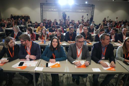 30/11/2019 Líderes de Ciudadanos  EUROPA ESPAÑA POLÍTICA  JESÚS HELLÍN - EUROPA PRESS   ines arrimadas jose manuel villegas altres dirigents ciutadans r