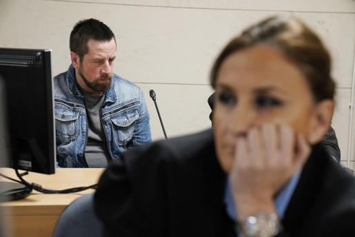 El Chicle, durante el juicio.