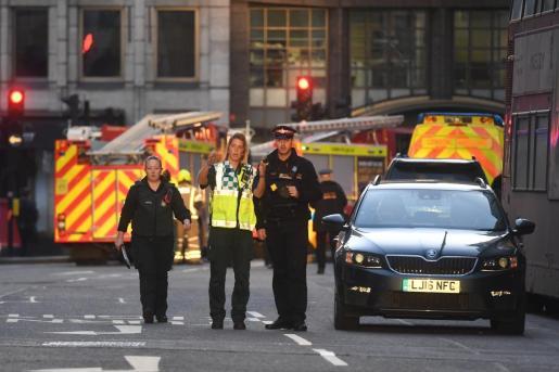 Dos personas murieron en el ataque en Londres.