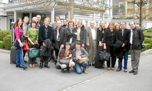 Todos los miembros de la Orquestra desplazados a Suiza.