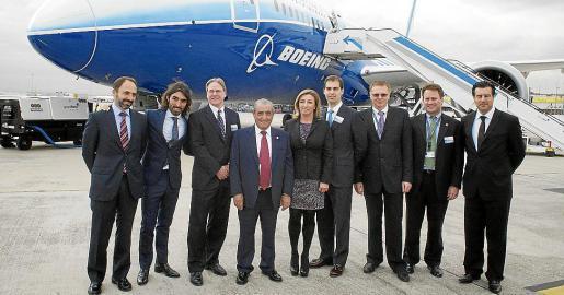 Andrés Bello, Javier Hidalgo, Todd Nelp, Juan José Hidalgo, María José Hidalgo, Fernando Esteban, Uli Fischer, Kit Thomson y José María Hoyos.