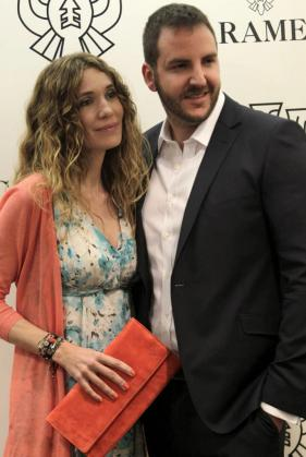 Borja Thyssen y Blanca Cuesta, en una imagen de archivo.