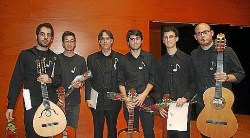 Tomeu Marroig, Candid Trujillo, Joan Pastor, Joan Carles Munar, Ferrán Riera y Joan Sebastià Mateu.