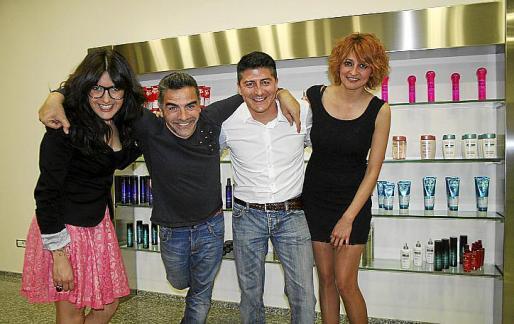 Silvia Santos, Antonio Bottino, Juan Carlos Peña y Jeri Herrera.