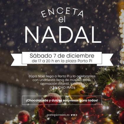 El centro comercial Porto Pi celebra la Navidad con una fiesta llena de actividades.