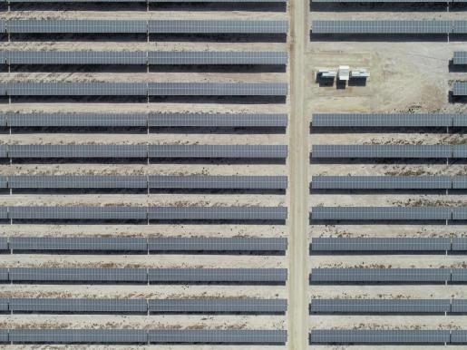Planta solar fotovoltaica de Endesa.