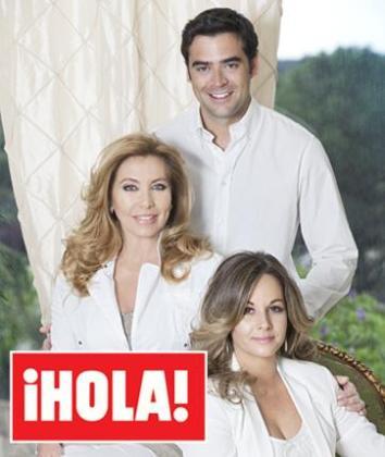 Norma Duval ha anunciado en la revista Hola que será abuela por primera vez.