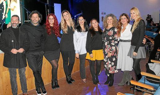 Jaume Anglada, Iván Campo, Elena Villalba, Isabel Ximelis, Marta Andreu, Carolina León, Silvina di Paolo, Marta Ríos y Carolina Cerezuela.