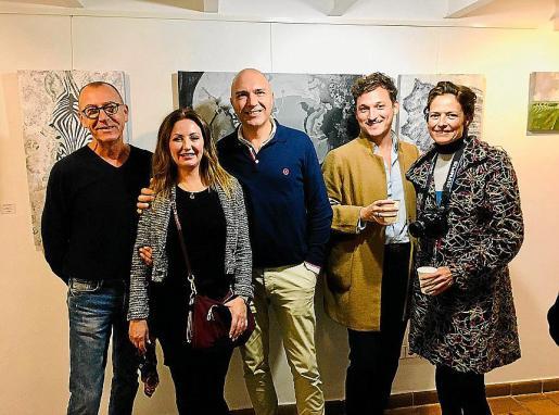 Joan Llobera, Fani Morro, Joan Roures, Francis García y Elena Calvache.
