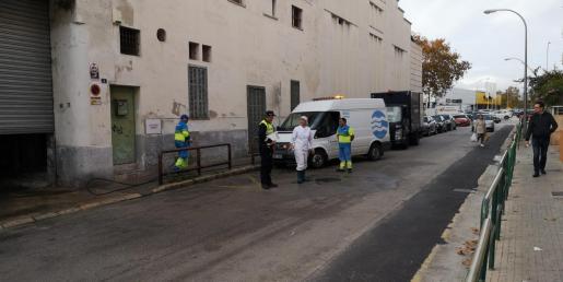 La Policía Local se ha hecho cargo de la investigación.
