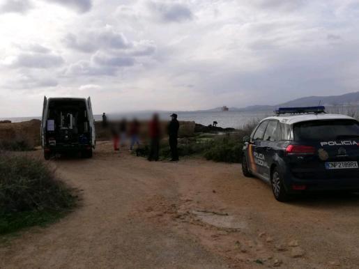 La Policía Nacional ha detonado el proyectil.