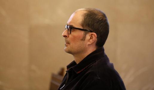 Imagen del acusado del crimen de Sencelles durante el juicio.