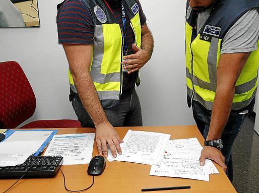 Agentes del CNP están cursando las diligencias del caso.