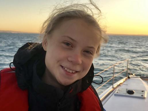 Greta Thunberg, activista climática sueca.