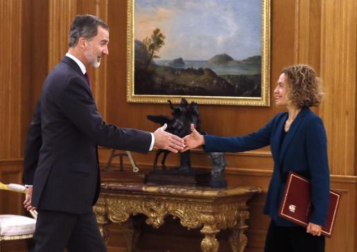 La presidenta del Congreso, Meritxell Batet, ha trasladado al Rey los partidos que acudirán a la ronda de consultas.