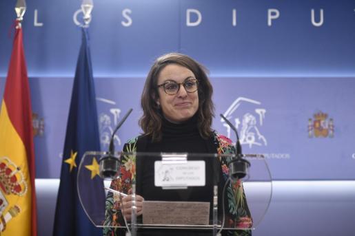 La diputada de la CUP en el Congreso, Mireia Vehí.
