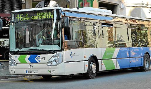 El incidente tuvo lugar durante el trayecto de un bus de la EMT.