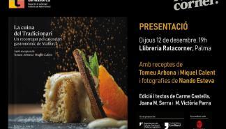 Presentación de 'La cuina del Tradicionari' en Rata Corner