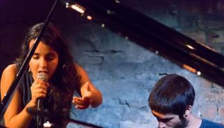 Concierto de Júlia Colom y Toni Vaquer en el Teatre Principal de Palma