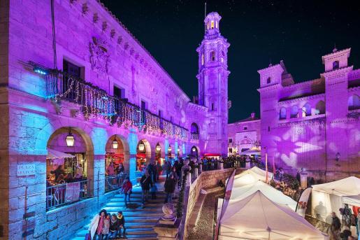 El Mercado de Navidad del Pueblo Español es una de las propuestas.