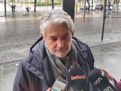 El abogado personado por las cargas del 1-O, Robert Sabata.