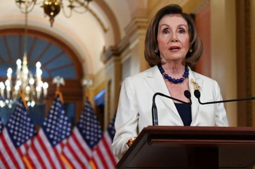 Nancy Pelosi ha anunciado el 'impeachment' contra Trump.