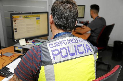 El arresto fue practicado por agentes del Grupo de Delitos Tecnológicos.
