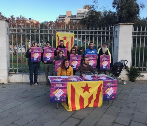 Imagen de la rueda de prensa en la que se ha presentado la Diada de Mallorca.