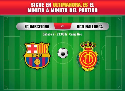 El Real Mallorca visita este sábado el Camp Nou para enfrentarse al FC Barcelona.