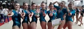 El Xelska, segundo en el arranque de la Liga Iberdrola de gimnasia artística