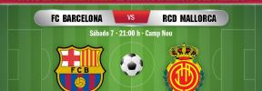 FC Barcelona-Real Mallorca, en directo