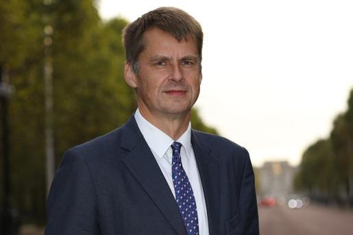 El embajador de España en Reino Unido, Hugh Elliot, en una imagen de archivo.