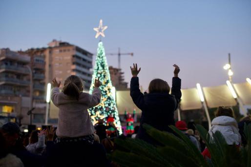 El centro comercial Porto Pi vivió un fin de semana muy navideño.