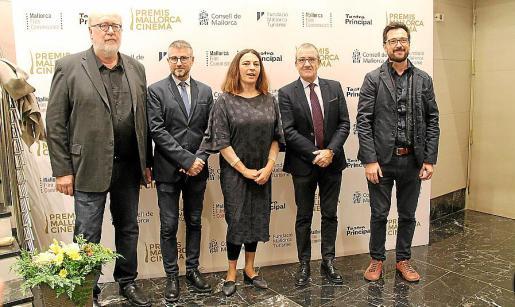 Pedro Barbadillo, Josep Cerdà, Catalina Solivellas, Juan Pedro Yllanes y Mateu Malondra.