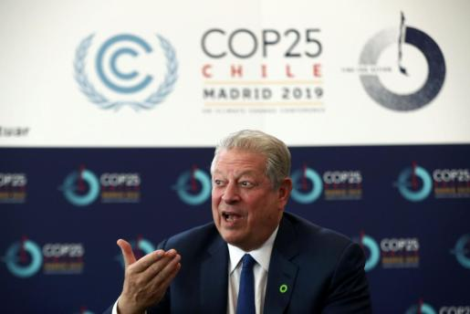 Al Gore en Madrid.