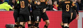 Un gol de Rodrigo clasifica al Valencia para los octavos de final
