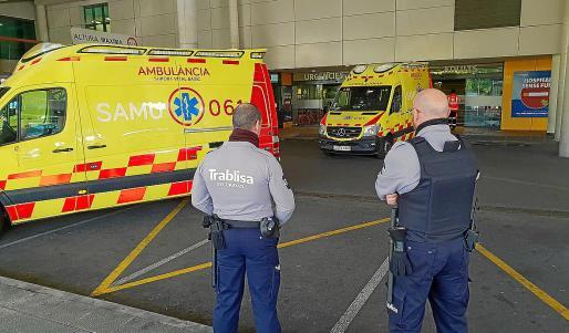 El incidente tuvo lugar en la unidad de detenidos del hospital de referencia.