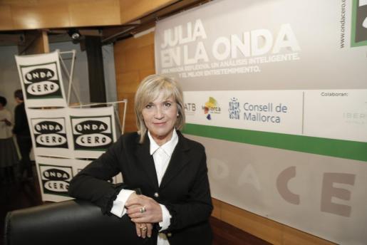 Imagen de archivo de la periodista, en una anterior visita a Palma.