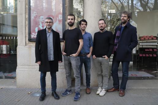 Presentación del concierto de Manel en Palma.