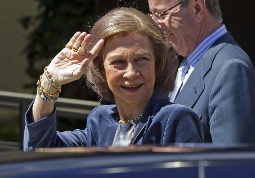 Doña Sofía, en una imagen de archivo.