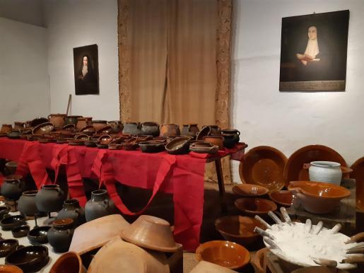 Una de las salas de exposición del Convent de Ses Caputxines.