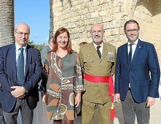 Ramon Morey, Francina Armengol, Fernando García Blázquez y José Hila.