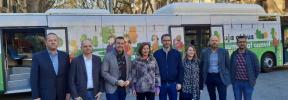 La EMT estrena los nuevos autobuses con una jornada de puertas abiertas