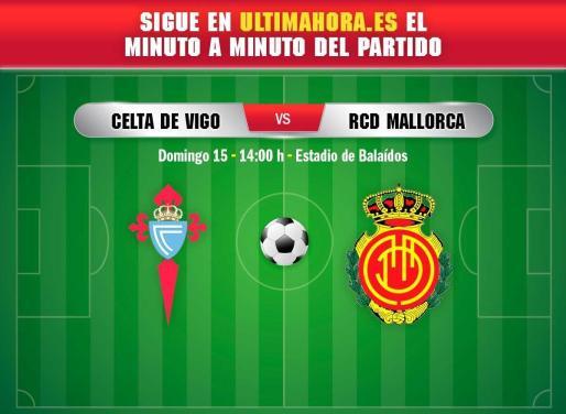 El estadio de Balaídos acoge este domingo un duelo clave para Celta y Mallorca.