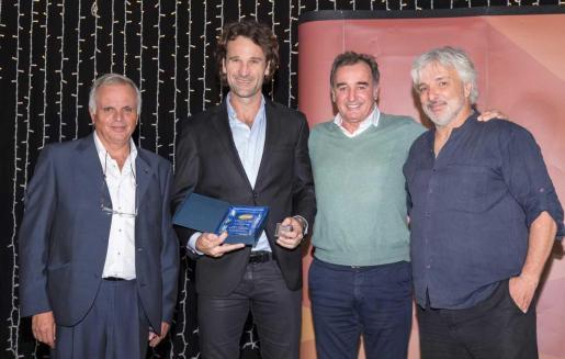 Toni Ferragut, Carlos Moyà, Alberto Tous y Jofre Porta.
