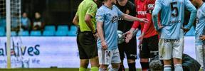 El Celta critica el uso del VAR en su partido contra el Mallorca