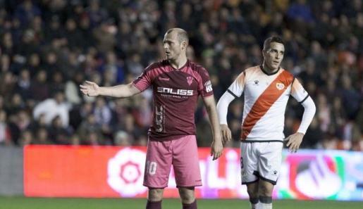 Imagen del encuentro entre el Rayo y el Albacete disputado en Vallecas.